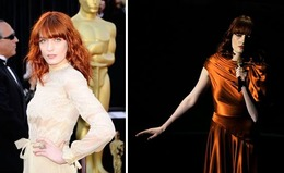 Oscar Makeup 2011: Florence Welch