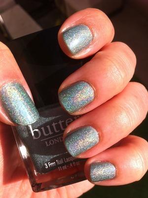 "Butter London ""Fishwife"" looks like Cinderella glass slippers! LOVE! <3"