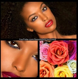 My beauty work :) let the beauty of the world inspire you-and don't be afraid of COLOR!