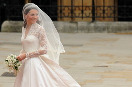 Kate Middleton's Gown Revealed!