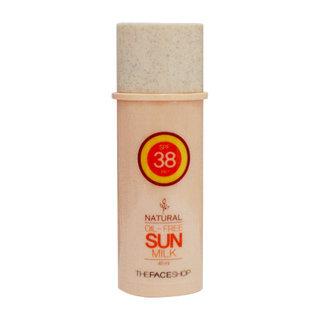 The Face Shop Natural Oil Free Sun Milk SPF38 PA++