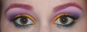 Using some Sugarpill colors! Love :)