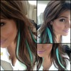 Green Ombré Extensions
