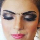 Smokey Eyes & Cute candy lips!