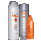 Avon Advance Techniques Frizz Control Lotus Shield 3-Piece Haircare Collection