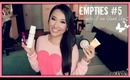Empties! ♡ Products I've Used Up #5 Nail Care + Makeup - hollyannaeree