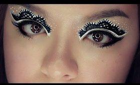 Easy Lace Eye Makeup