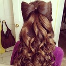 Bow hairstyles!