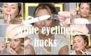 WHITE EYELINER HACKS YOU NEED TO KNOW ( 7 TRICKS IN UNDER 5 MINS)