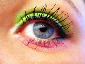 A toned-down version of Nicki Minaj's Super Bass make-up. Can be worn day or night. Fun, flirty & fabulous!