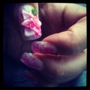 Acrylic Nails... 3D Flower