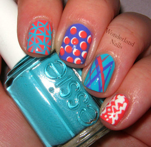 For more info please visit my blog http://wonderland-nails.blogspot.com/2013/07/80s-inspired-nail-art.html