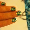 Zebra nails~<3