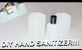 DIY Homemade Hand Sanitizer Formula! Hair Salons are back open let's be safe! Cyn Doll