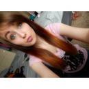 Cut my bangs. :)