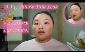 A Charlotte Tillbury Pillow Talk Look + Drugstore Lip Combo That's AMAZING | Amy Yang