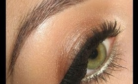 Make-up tutorial : Bronze for Prom using Urban Decay