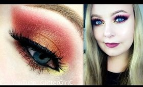 Cranberry and Bronze Makeup Tutorial - Kat Von D Mi Vida Loca palette