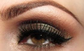 Makijaż: Duochrome smokey eye - smoky jednym cieniem