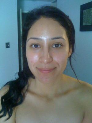 Brides Hair & Makeup Client! www.shaniltonsvirtuouscreations.webs.com  (Before)