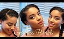 How to Create Goddess Braids With Kinky Straight Clip-Ins