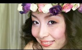 Wedding Makeup ♡ Natural Warm Color Eyes