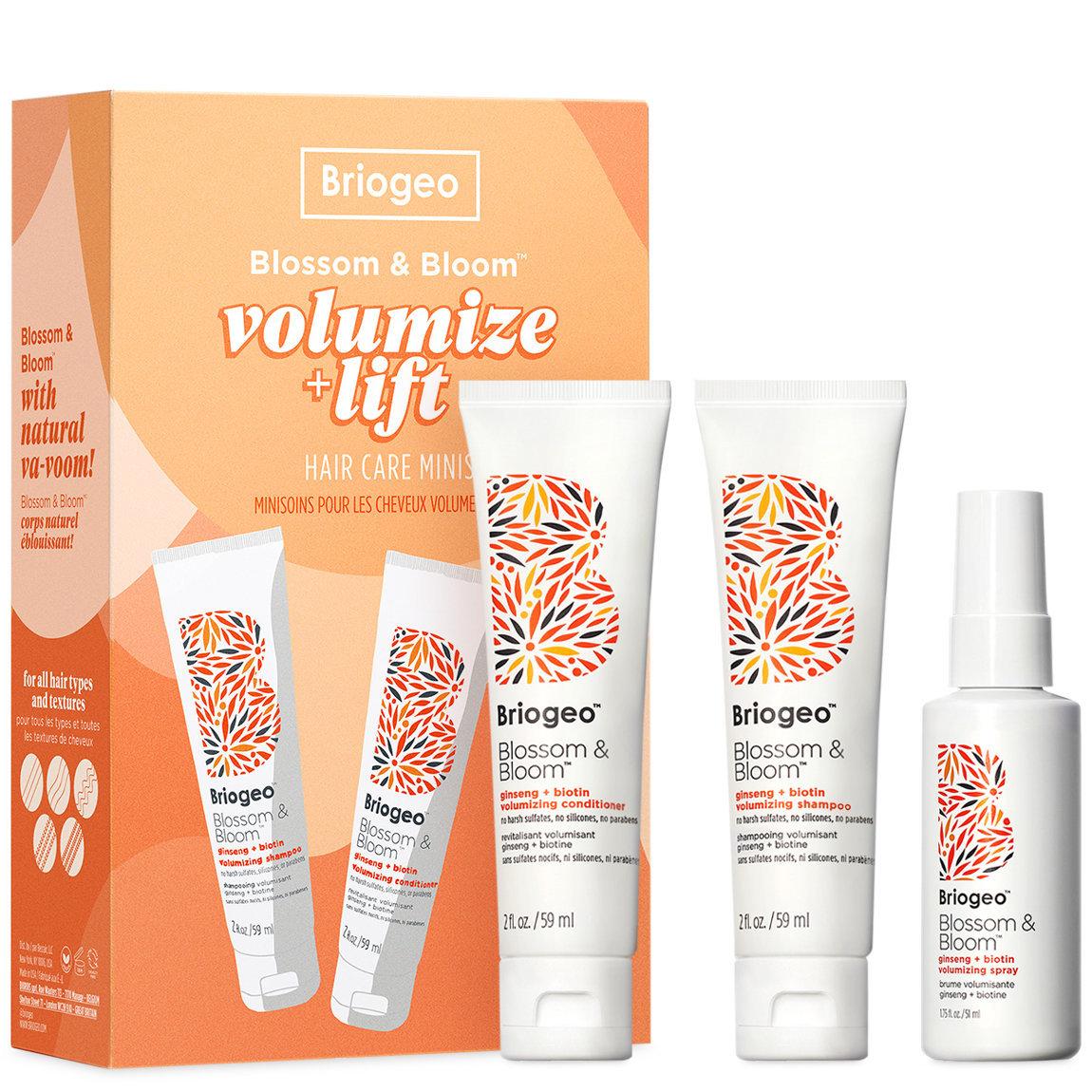 Briogeo Blossom & Bloom Volumize + Lift Hair Care Minis alternative view 1 - product swatch.