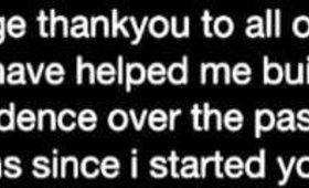 My thankyou video