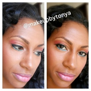 Products and tutorial at www.makeupbytonya.com