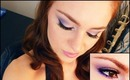 Prom Purple Smokey Eye with Drugstore Makeup