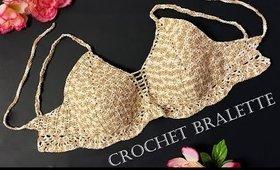 How to Crochet a Bralette | Bikini Top