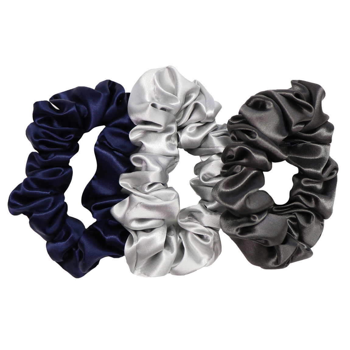 Slip Large Silk Scrunchie The Midnight Collection product swatch.