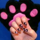 NAV | Animal Paw Print Nail Dotting Tutorial