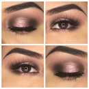 Sparkly pink Valentines day look