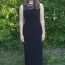 Graduation Dress with Pearls