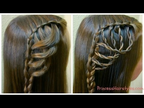 Folded Feather Braid Braided Hairstyles Hair4myprincess