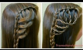 Folded Feather Braid, Braided Hairstyles
