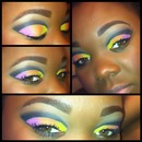 My first attempt at a cut crease