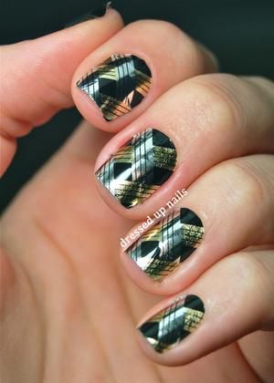 Full review on my blog!  http://www.dressedupnails.com/2013/02/omg-nail-strip-review.html