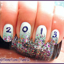 New Years Nails