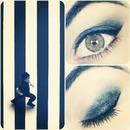 Diagonal eyes