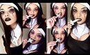 *Halloween* Evil Possessed Nun / Sexy Demon Chick Makeup Tutorial