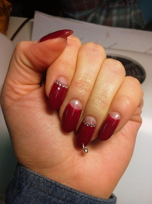 Valentins nails