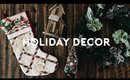 HOLIDAY HOME DECOR HAUL! CHRISTMAS DECOR 2018 | Nastazsa