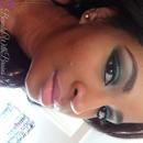 Edgy Emerald Look