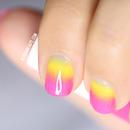 Nail Art Tie and dye