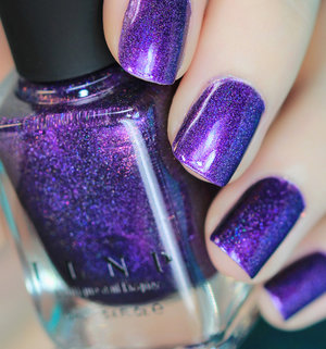 ILNP Purple Plasma Swatch by Christa S. www.ILNP.com