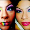 Skittles Colorful Makeup