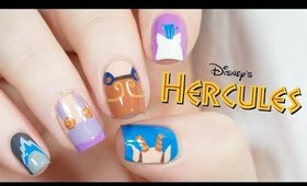 Hercules Nails | Disney Nail Art | NailsByErin