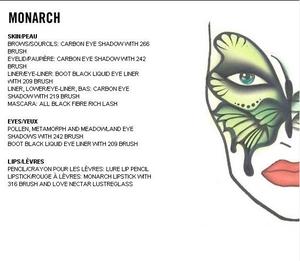 Monarch Mask